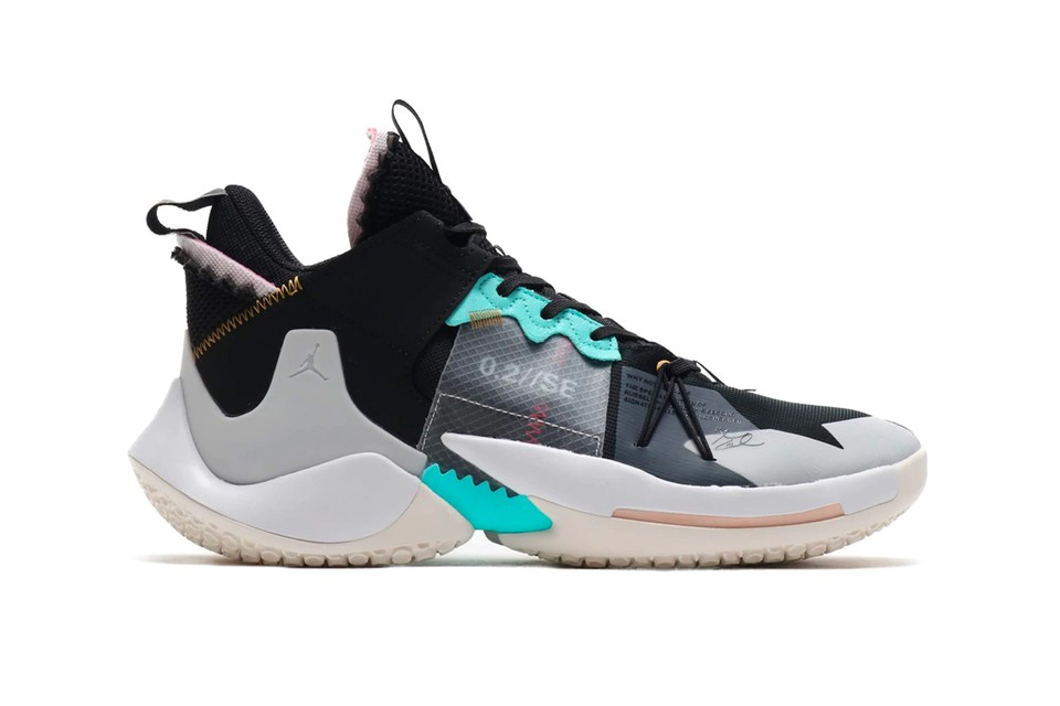 Dormitorio reposo ancla  Nike Jordan Why Not Zer0.2