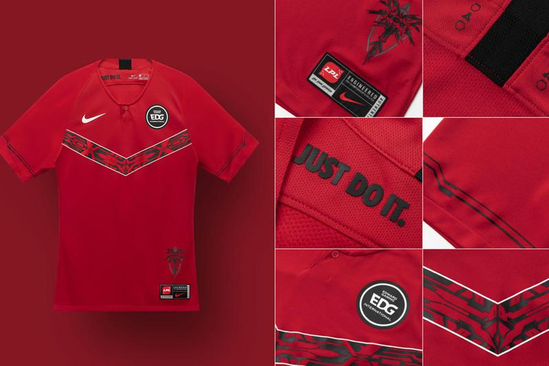 league of legends pro league nike team kits collaborations jerseys