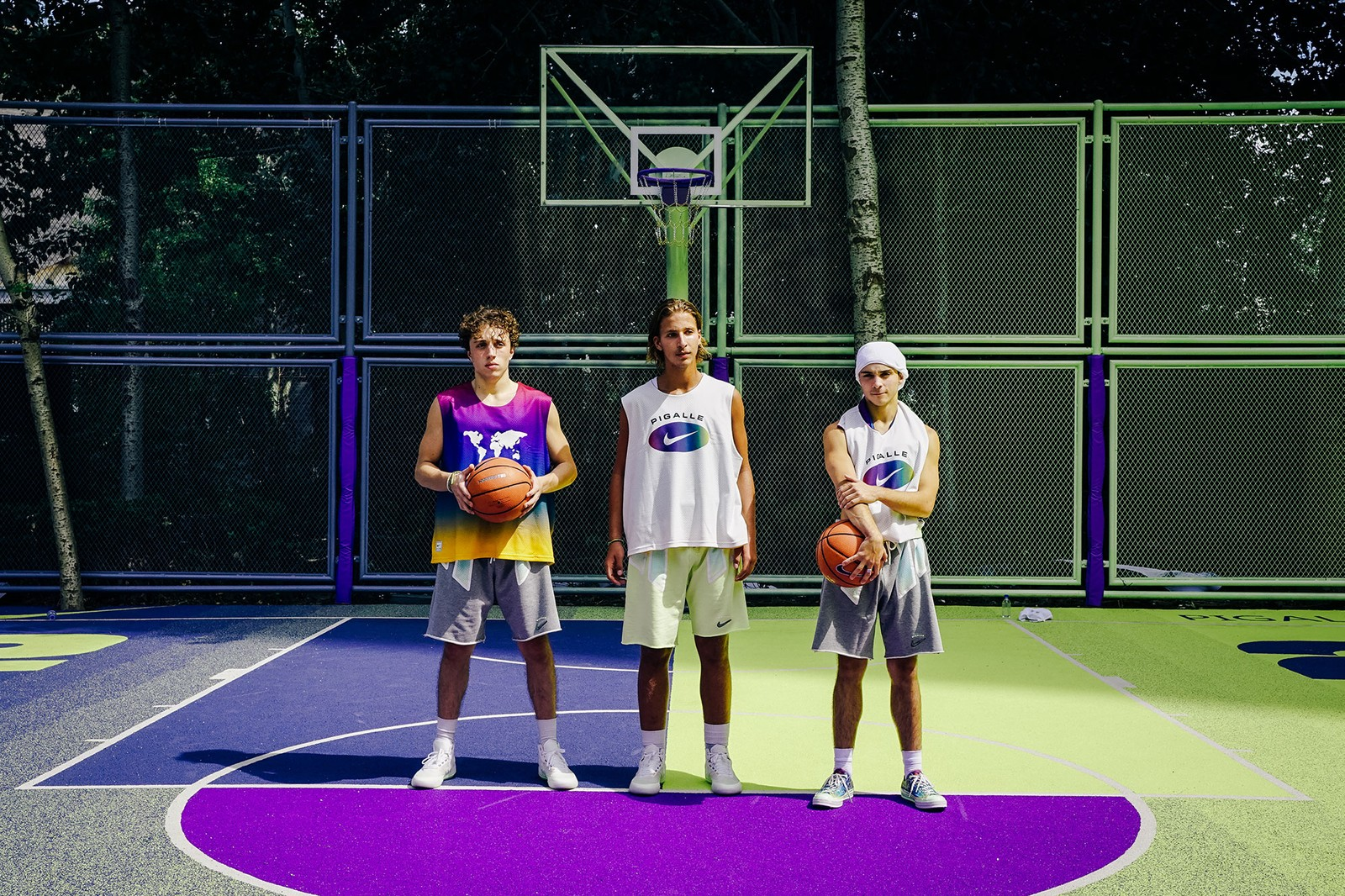 Stéphane Ashpool Pigalle Beijing Nike Basketball Court Opening  Beijing FIBA Basketball Jerseys Converse Chuck 70
