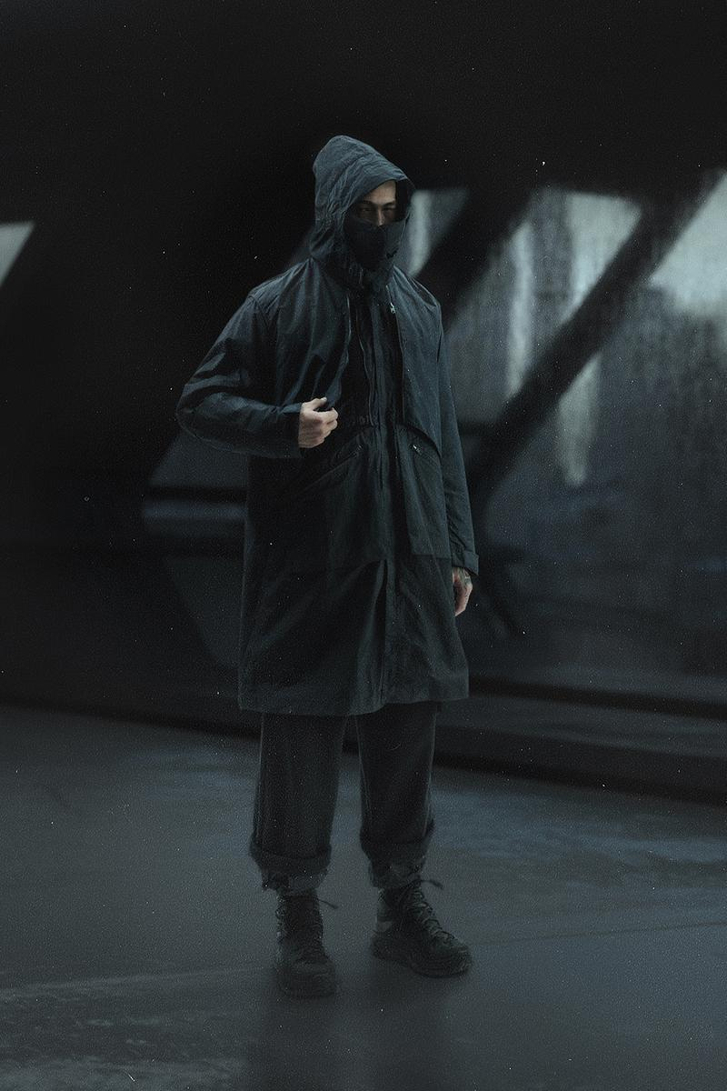 NILMANCE Fall/Winter 2019 Collection Lookbook techwear streetwear dyneema 3 layer 3L SCHOELLER® technical sportswear apparel function military future dystopian