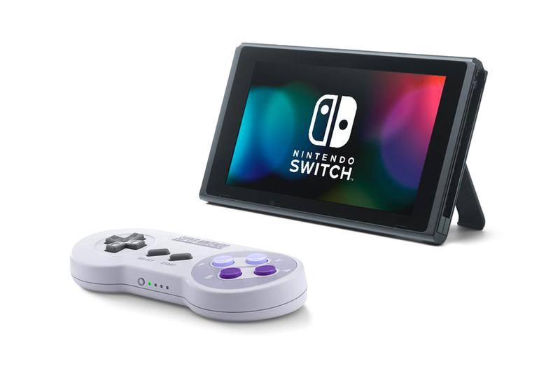 nintendo SNES switch controllers gaming video games super nintendo entertainment system console