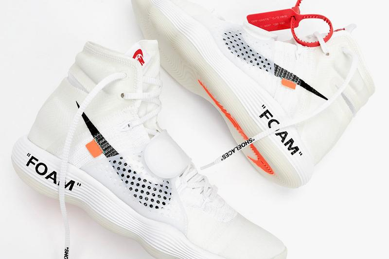 NTWRK Virgil Nike Off-White The Ten Collection Deconstructed Reconstructed Drawings NTWRK App One Year Anniversary Air Jordan I Nike Air Max 90 Nike Air VaporMax Nike Air Presto Nike Blazer Mid Converse Chuck Taylor Nike Air Force 1 Low Nike Zoom Fly SP Nike React Hyperdunk 2017 Nike Air Max 97
