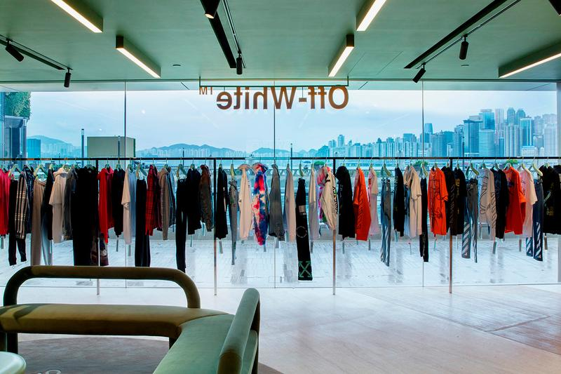 Off-White™ Hong Kong Store Opening First Look Opening Announcement Virgil Abloh Menswear Womenswear Collections Fall Winter 2019 FW19 Tsim Sha Tsui Victoria Harbour