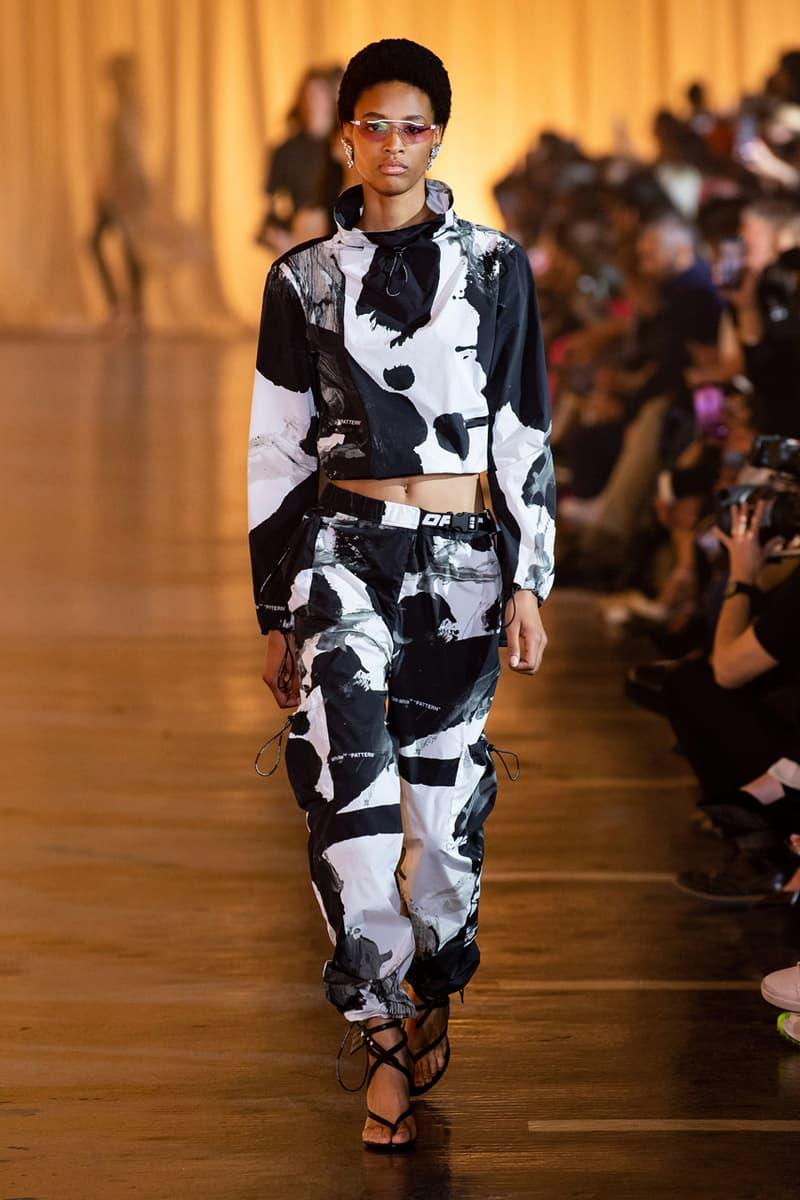 Off-White™ Spring/Summer 2020 Runway Show Recap paris fashion week ss20 peggy gou tyga halsey Zack Bia sita abellan Caroline Vreeland Olivia culpo meteor shower