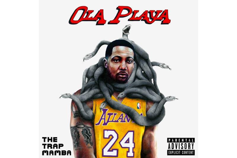 Ola Playa & Brodinski 'The Trap Mamba' Album mixtape Stream listen now soundcloud max antoine tracy tyler mister tweeks trap hip-hop rap ATL parisian traplord