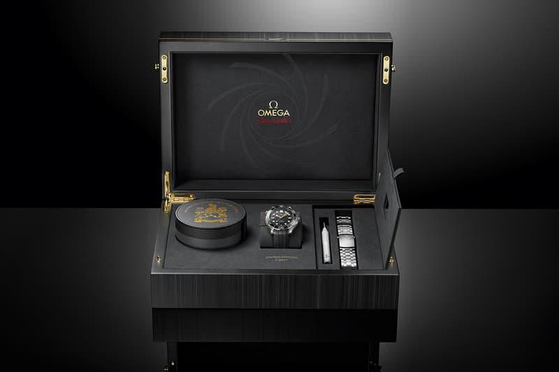 OMEGA Seamaster Diver 300M James Bond Tribute On Her Majesty's Secret Service 50th anniversary celebration british spy watches accessories timepiece