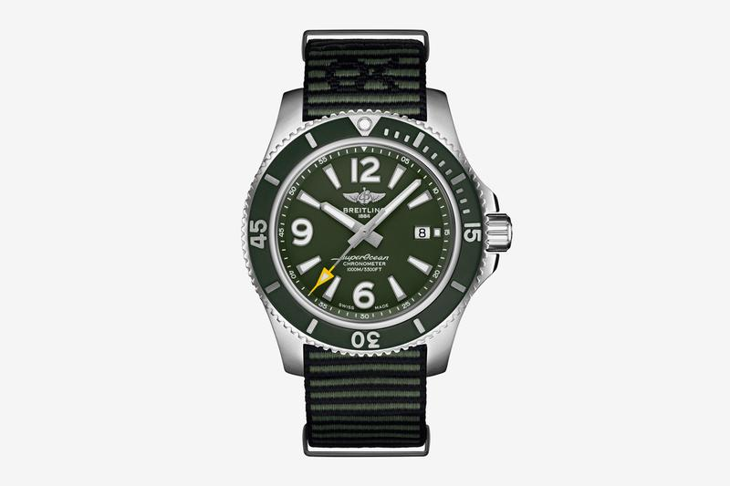 Breitling Superocean Automatic 44 Outerknown Release swiss watches luxury eco friendly sustainability NATO strap