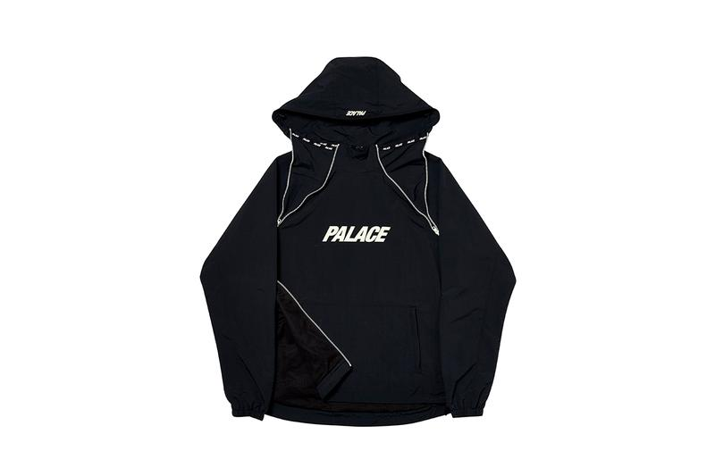 Palace Fall Winter 2019 Week Four 4 FW19 Collection Seasonal Drops Skateboards Skateboarding Glow in the Dark Jackets T-Shirts Caps Jumpers Sweatshirts Track Pants Solomon Collaboration