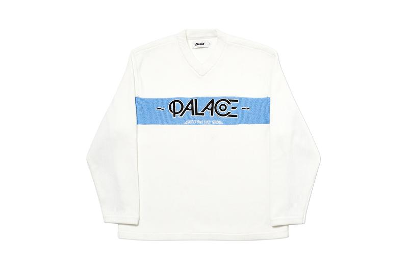 Palace Fall Winter 2019 Week Five Collection Seasonal Drops Skateboards Skateboarding Jackets T-Shirts Caps Jumpers Sweatshirts Track Pants