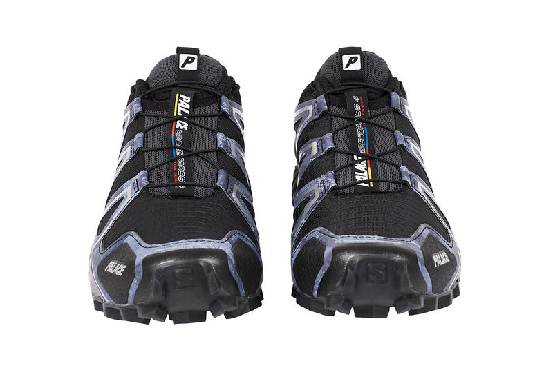 palace skateboards salomon speedcross 4 release details buy cop purchase sneaker trainer black white trail running performance order details campaign video
