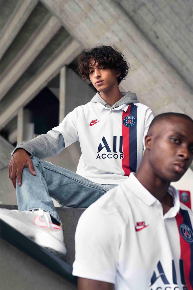 Paris Saint-Germain 2019/20 Third Kit nike football soccer 1989/1990 white blue red lookbooks