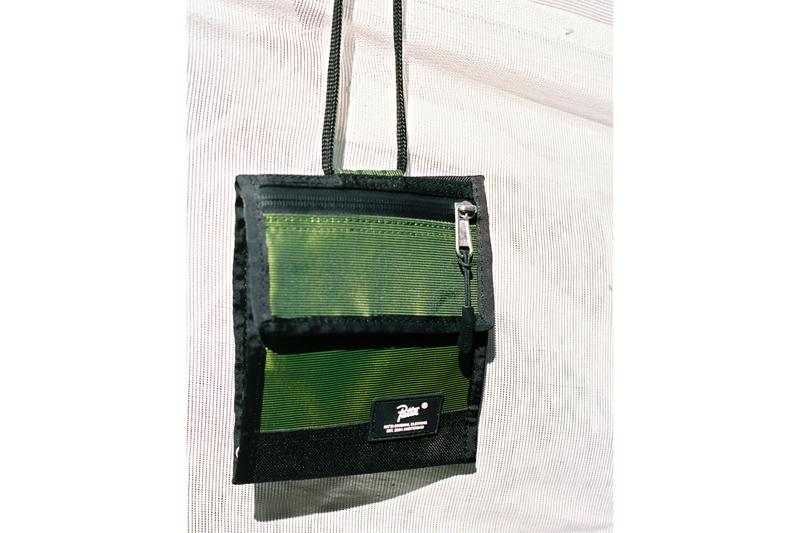 Patta Hi-Vis Bag Collection Fall/Winter 2019 Safety Yellow Black 33L Ditty Bag JP Cross Body Bag Neck Wallet Tactical Waist Bag