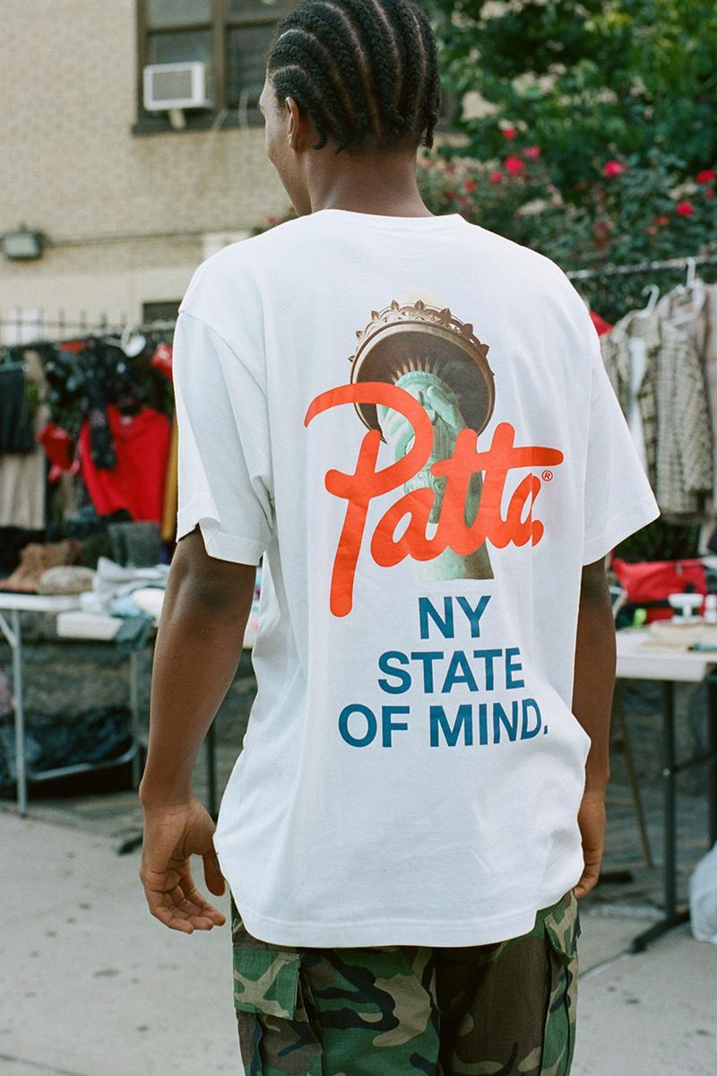 patta new york pop up store location address party vans timex carhartt wip stussy umbro Coloured Goodies SIGG Moleskine coogi special collection angelo baque creative buy cop purchase opening hours