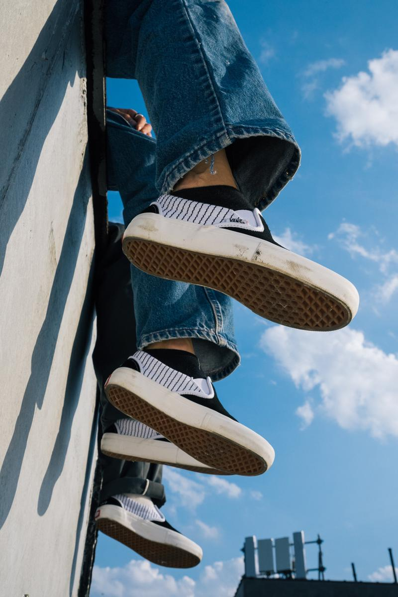 Peels Vans Sneaker Apparel Collection Collaboration Rose Stripes Classic Slip-Ons Black White Red Green Shirts Long-Sleeves Crewneck