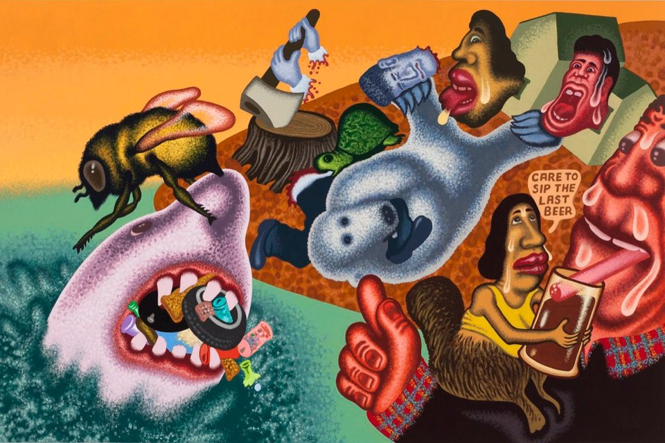 Peter Saul's Disruptive Paintings Will Take over the New Museum in NYC