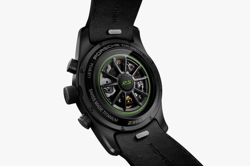 porsche design chronograph gt3 rs timepiece watch luxury