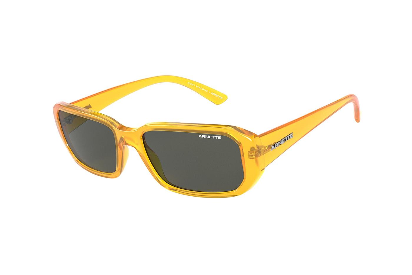 Post Malone Arnette Signature Collection Sunglasses Release AN 4265 Black White Grey Orange