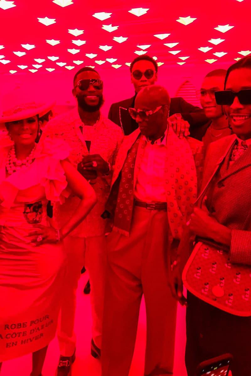 Potential Gucci x Gucci Mane Collaboration alessandro michele rapper milan fendi nicki minaj Keyshia Ka'oir dapper dan italy fashion week spring summer 2020