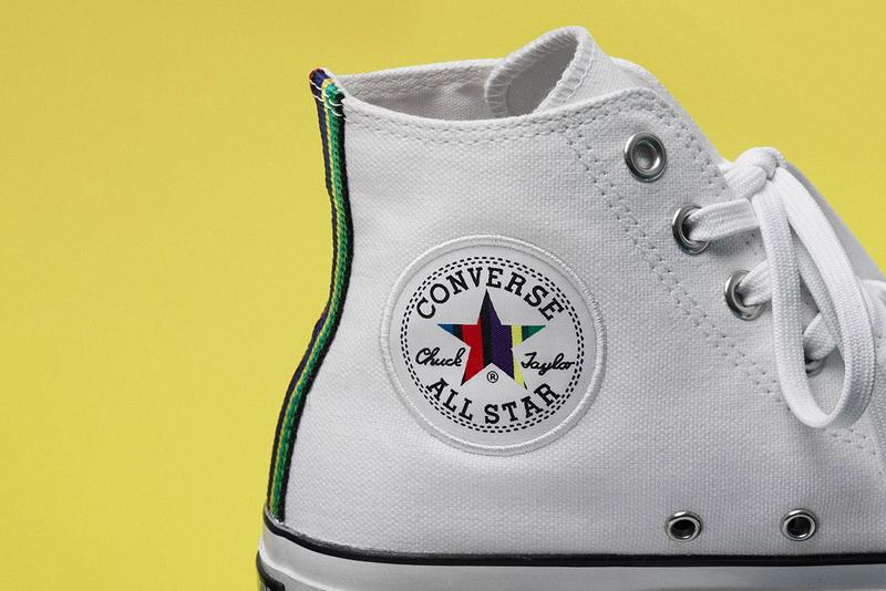 PS Paul Smith x Converse Japan Chuck Taylor High all star 100 hi collaboration release date info october 5 2019 buy colorway white sports stripe exclusive