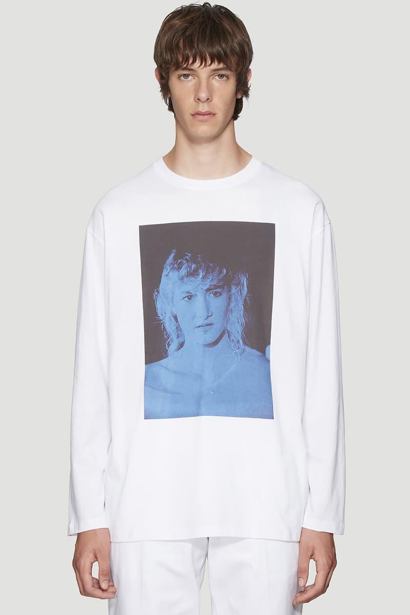 Raf Simons David Lynch Long Sleeve T shirt tee blue velvet 1986 neo noir drama tv series Dale Cooper Laura Palmer Bobby Brigg Laura Dern