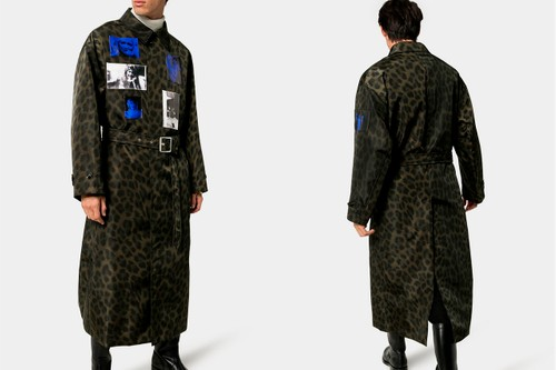 Raf Simons' FW19 Runway Leopard Print Photographic Overcoat Has Dropped