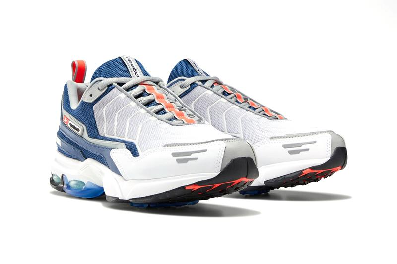 reebok dmx6 mmi sneakers shoes grey white lime colorway release 2001 archive design