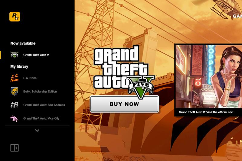 Rockstar Games Launcher PC Release Info windows video gaming grand theft auto san andreas V vice city bully la noir