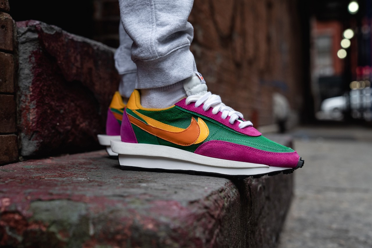 sacai x Nike LDWaffle New Colorways on