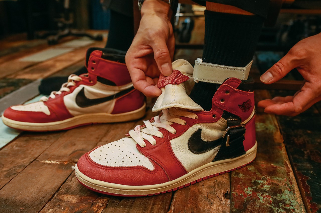 Custom Ankle Brace AJ1 Chicago's by