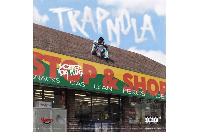 Scarfo Da Plug 'TRAP-NOLA' Album Stream new orleans atlanta trap hip-hop rap prison sentence mixtape spotify apple music baby 9eno T-Hood JG Riff iLuvMuny