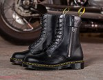 Schott NYC & Dr. Martens Craft Perfecto-Detailed Boots