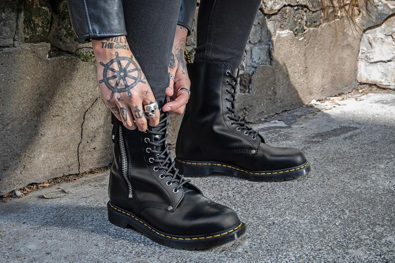 Feudal disaster The beginning  Schott NYC x Dr. Martens 1460, 1490 Boot Collab | HYPEBEAST