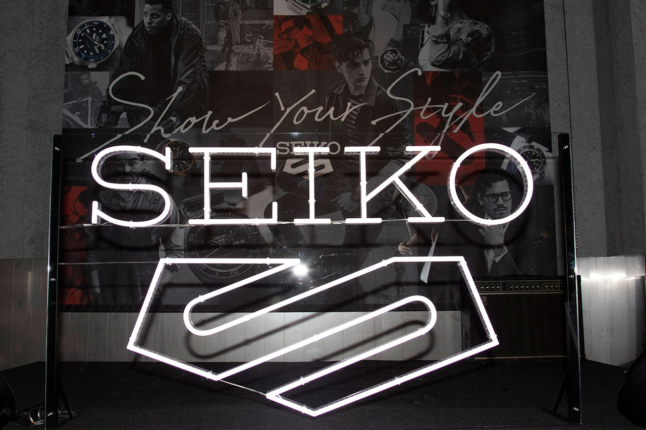Seiko Celebrates The Seiko 5 Sports With Immersive Launch Party in Tokyo Watches Accessories Streetwear Fashion Japan Tokyo Hypebeast Design Details