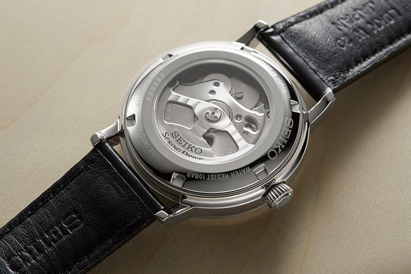 Seiko Presage Prestige Spring Drive Watches Info
