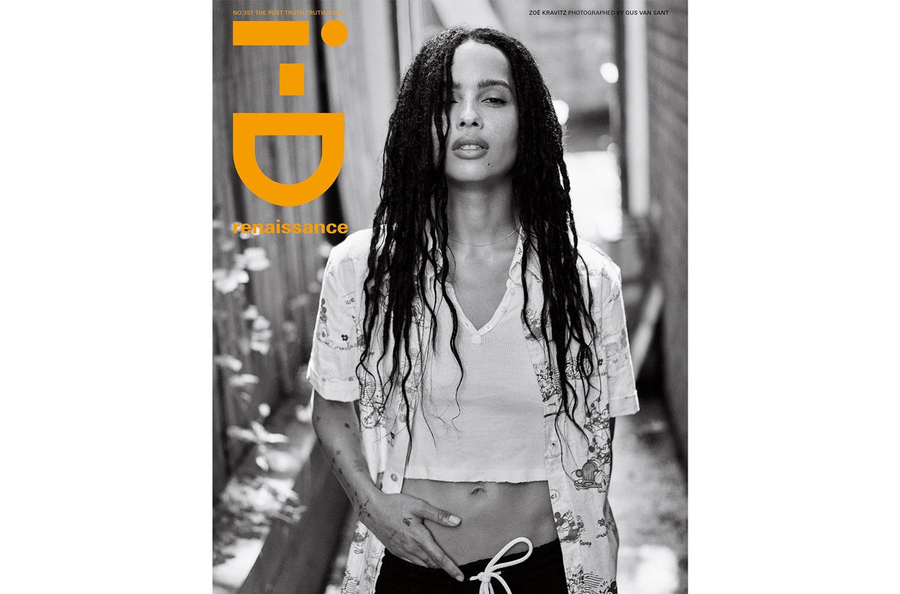 alastair mckimm i-d vice id supreme saint laurent september issue 2019 zoe kravitz fka twigs tyshawn jones kevin abstract fernando mona tougaard wily vanderperre gus van sant mert and marcus fenty luar alexander mcqueen revlon vice terry tricia jones