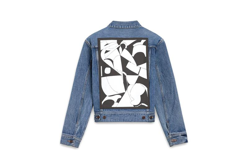 Shawn Kuruneru x CELINE Capsule Collection Hedi Slimane Canadian Artist Fall Winter 2019 FW19 Designer T-Shirt Sweatshirt Tech Accessories iPhone X XS Denim Jacket Print Graphic Sneakers Wallet Purse