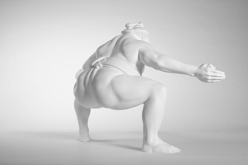shohei otomo sumo shadow gallery nothing you can do can hurt me wrestler sculpture hong kong melbourne SHDW.gallery shdw