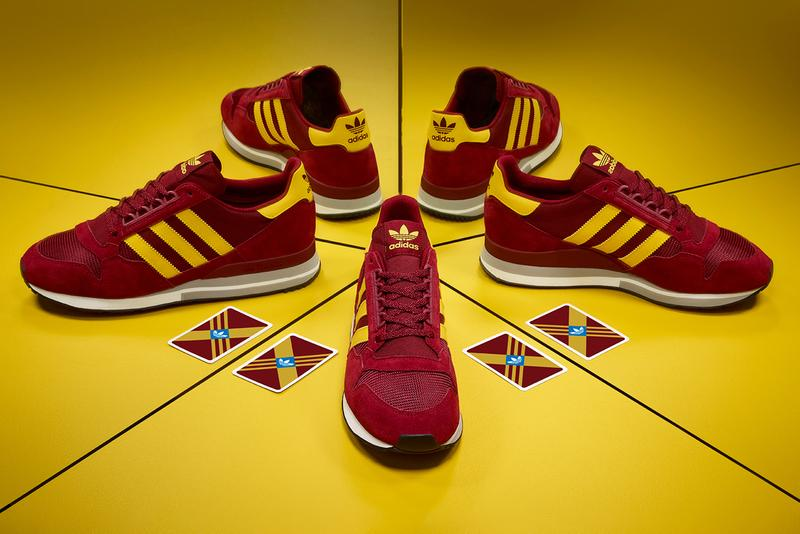 size adidas originals zx500 maroon yellow archive runner sneaker trainer details buy cop purchase order