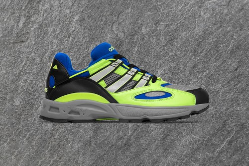 Size? Wraps adidas Originals LXCON '94 in Hi-Vis Green, Black & Blue