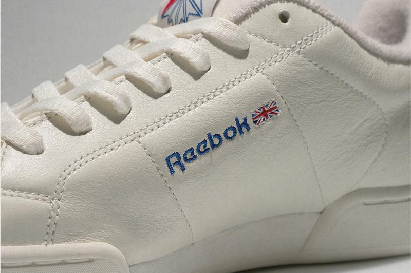 size reebok npc ii newport classic remix mix up white grey inside out swapped sides release information buy cop purchase order details