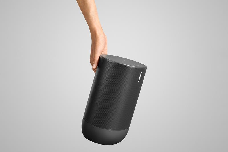 Sonos Move Portable Bluetooth Speaker Audio Automatic Trueplay Technology Patrick Spence Sonos Port Sonos One SL Transport Indoor/Outdoor Portable