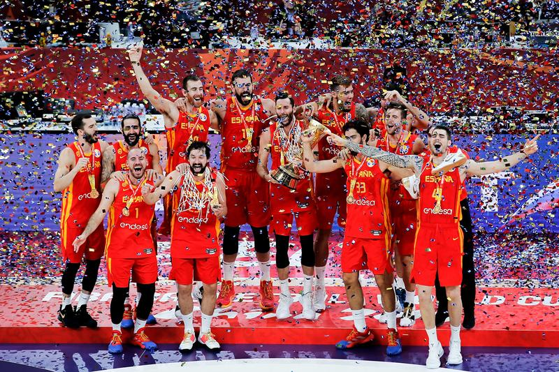 Spain Wins FIBA World Cup 2019 Gold Defeating Argentina championship title game ricky rubio marc gasol china