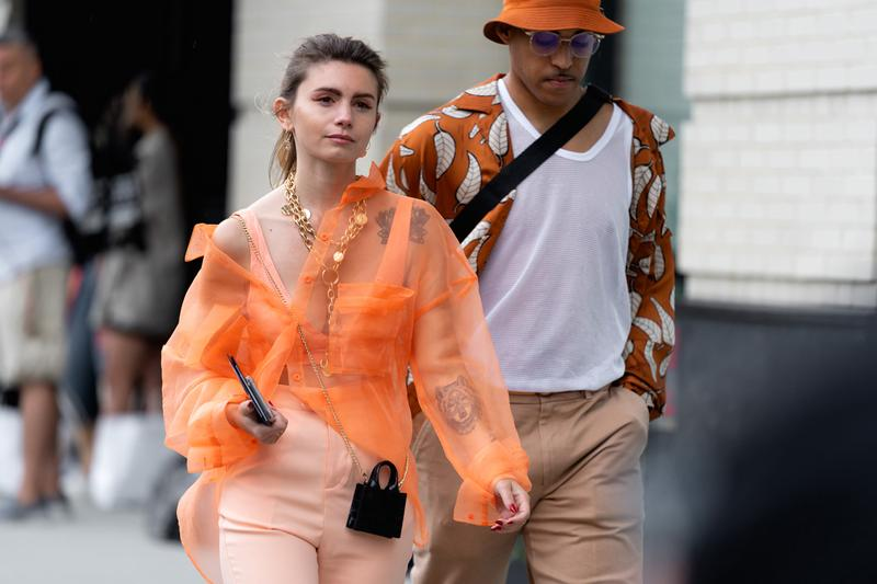 Streetstyle New York Fashion Week Womens Spring Summer 2020 ss20 snaps looks