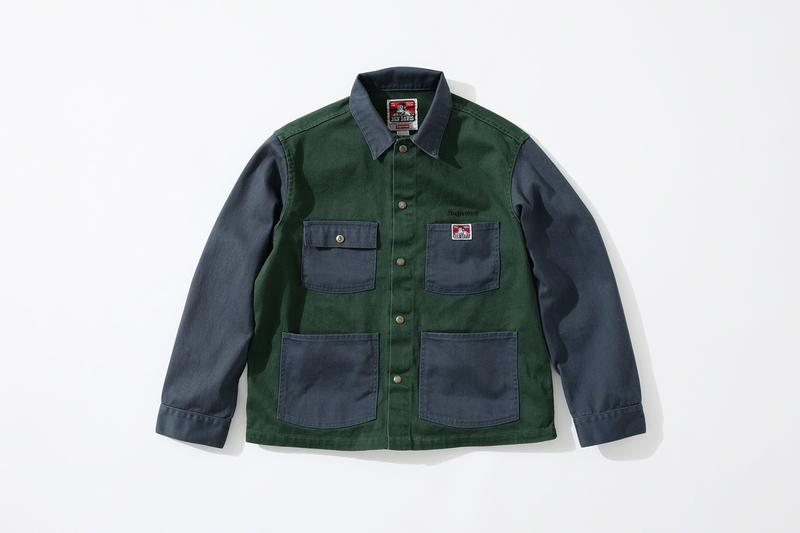 Supreme Ben Davis Fall 2019 Collection Info workwear chore coat jackets hickory stripes overalls jeans supreme New York Railroad
