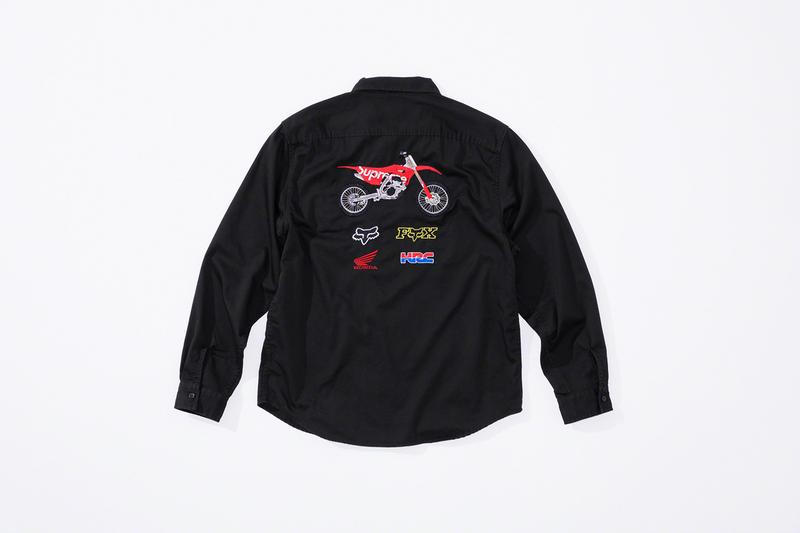 Supreme x Fox Racing x Honda Fall 2019 Collection dirt bikes mx motocross honda  wings fox racing outdoors jackets pants hypebeast collaboration