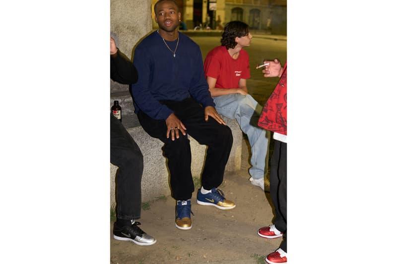 Supreme x Nike SB Dunk Low Official Release Info Lookbook Supreme New York skateboarding World Famous Nike Air Swoosh footwear sneakers
