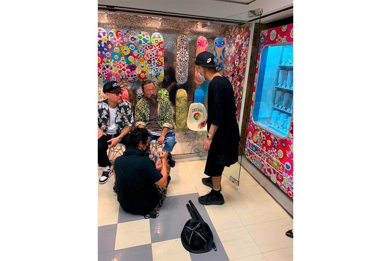 Takashi Murakami Ben Baller Collaboration Teaser Chains jewelry Accessories Release info Date Tokyo Buy IF & Co. Custom Jewelry