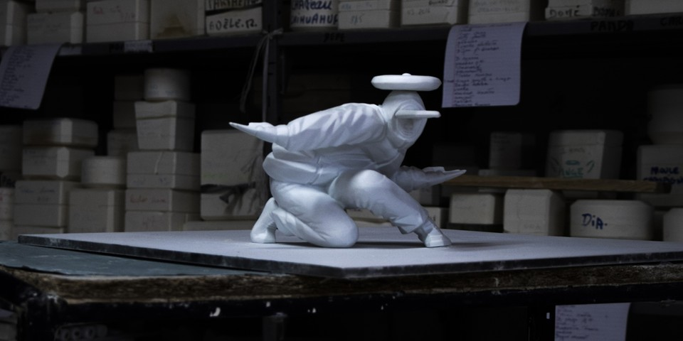 Taku Obata & Galerie Bomma to Release Limited 'B-Boy' Porcelain Figure in Paris