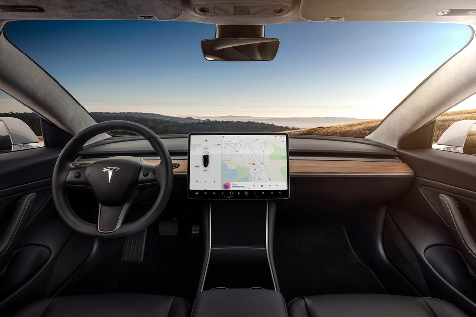 Tesla's Model 3 Interior Is Now 100% Leather-Free