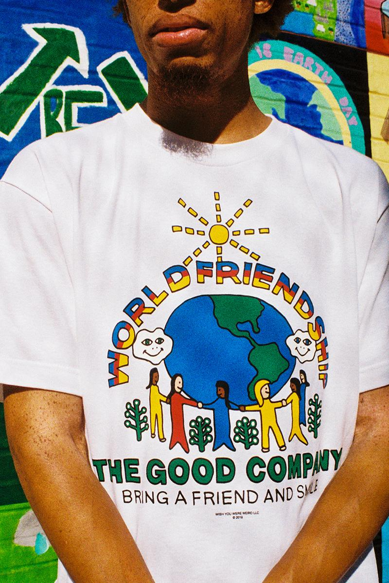 the good company fall 2019 collection lookbook release lower east side tshirts hoodies sweatpants tote bag palo santo pack